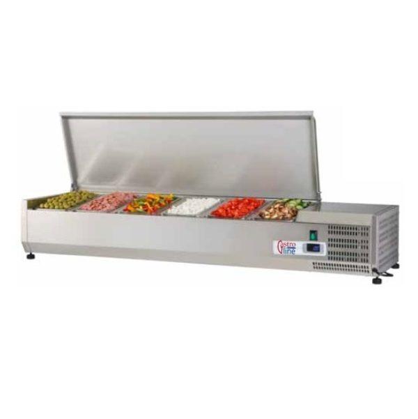 Kjølerenne med lokk for GN1/3 og mest kantine størrelser