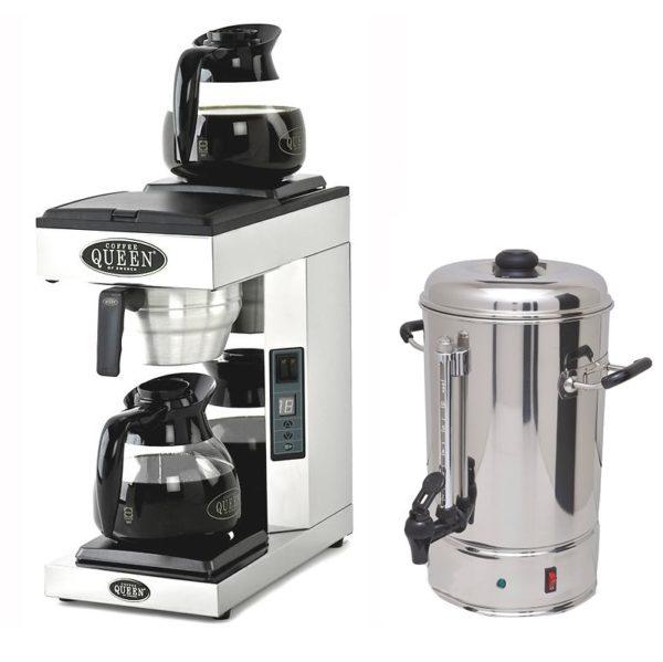 Kaffetrakter, vannkoker