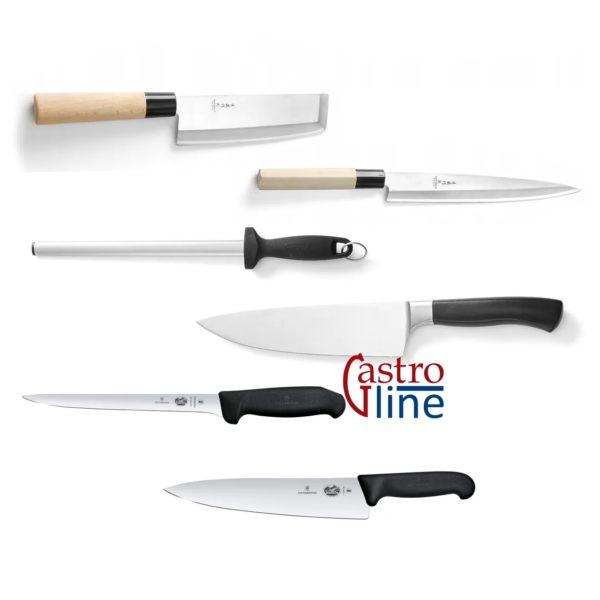 Kniver og tilbehør